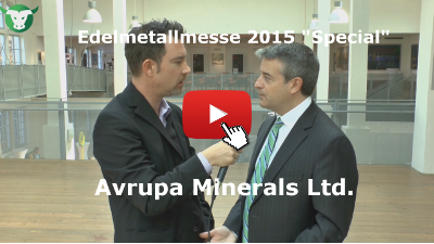 Video-Interview mit Avrupa Minerals Ltd. von der Edelmetallmesse 2015