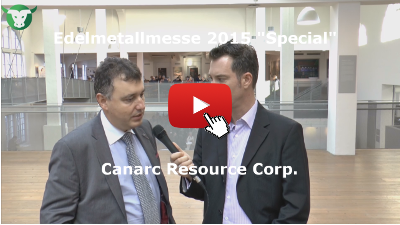 Canarc Resource Corp. - Videointerview von der Edelmetallmesse 2015