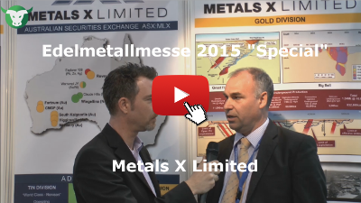 Video-Interview mit Metals X von der Edelmetallmesse 2015