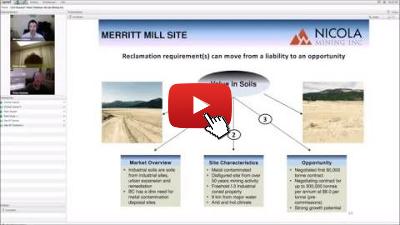 CEO-Roaster Webinar mit Nicola Mining Inc.