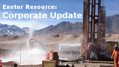 Exeter Resource mit Corporate Update
