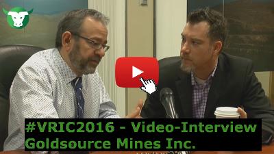 Video-Interview mit Goldsource Mines anlässlich der VRIC2016