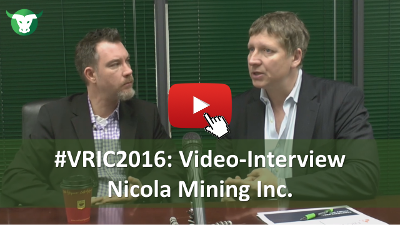 VRIC2016: Video-Interview Peter Espig Nicola Mining Inc.
