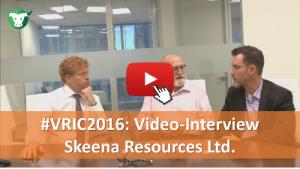 VRIC2016: Video-Interview mit Skeena Resources Ltd.