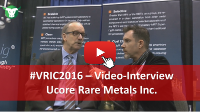 VRIC2016: Video-Interview mit Ken Collison von Ucore Rare Metals Inc.