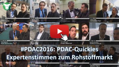 PDAC2016: PDAC-Quickies - Expertenstimmen zum Rohstoffmarkt