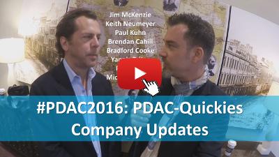 PDAC-Quickies - Kurzupdates von verschiedenen Unternehmen