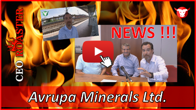 Avrupa Minerals mit News - hier das Video-Interview