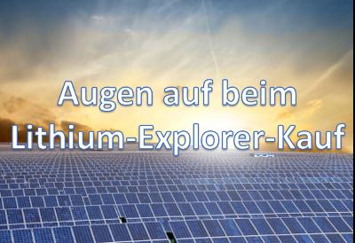 Lithium Explorer Aktie