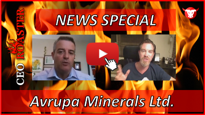 News Special Video-Interview mit Avrupa Minerals