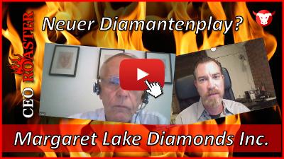 Margaret Lake Diamonds Inc. im CEO-Roaster Video-Interview