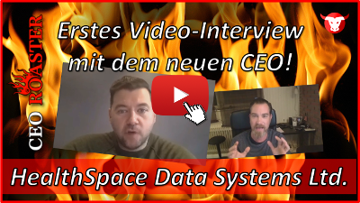 HealthSpace Data Systems: Erstes Video-Interview mit dem neuen CEO