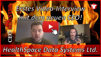 HealthSpace Data Systems: Erstes Video-Interview mit dem neuen CEO