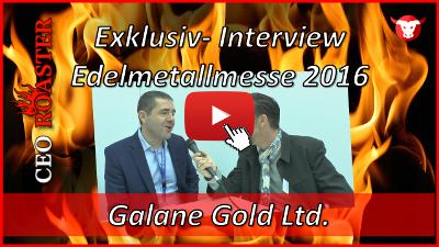 Galane Gold Ltd.: Exklusiv-Interview mit Nicholas Brodie von der Edelmetallmesse 2016 in München