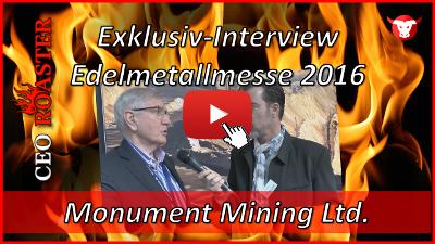 Monument Mining im Exklusiv-Interview von der Edelmetallmesse 2016