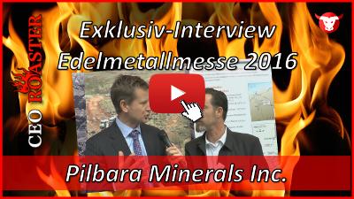 Pilbara Minerals Ltd.: Exklusiv-Interview mit Ken Brinsden von der Edelmetallmesse 2016 in München