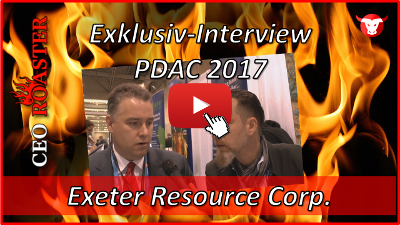 Exeter Resource Corp.: Exklusiv-Interview mit Rob Grey von der #PDAC2017 in Toronto