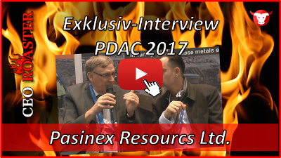 Pasinex Resources Ltd.: Exklusiv-Interview mit Steve Williams von der #PDAC2017 in Toronto