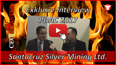 Santacruz Silver Mining Ltd.: Exklusiv-Interview mit Arturo Prestamo Elizondo von der #PDAC2017