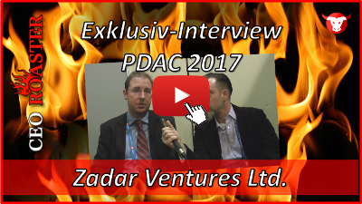 Zadar Ventures Ltd.: Exklusiv-Interview mit Paul Gray von der PDAC 2017