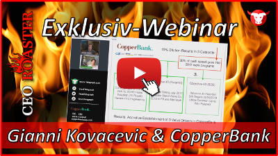 CEO-Roaster Webinar mit CopperBank Resources Corp.