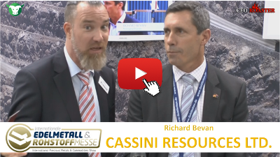 Video-Interview mit Cassini Resources von der #Edelmetallmesse2017