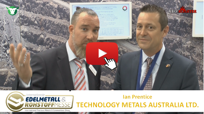 Video-Interview mit Technology Metals von der #Edelmetallmesse2017