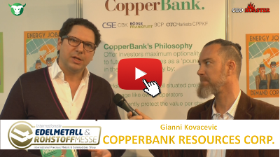 Video-Interview mit CopperBank von der #Edelmetallmesse2017