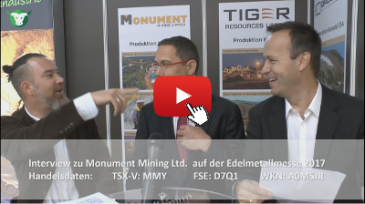 Video-Interview mit Monument Mining von der #Edelmetallmesse2017
