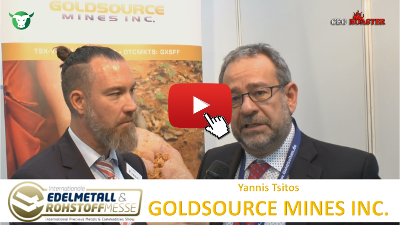 Video-Interview mit Goldsource Mines von der #Edelmetallmesse2017