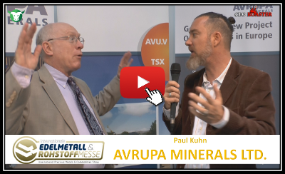 Video-Interview mit Avrupa Minerals von der #Edelmetallmesse2017