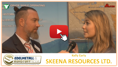 Video-Interview mit Skeena Resources von der #Edelmetallmesse2017