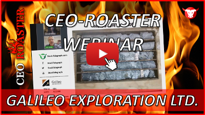 CEO-Roaster Interview mit Galileo Exploration Ltd.