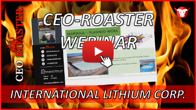 CEO-Roaster Interview mit International Lithium Corp.
