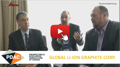 Global Li-Ion Graphite Corp.: CEO-Roaster Interview at #PDAC2018