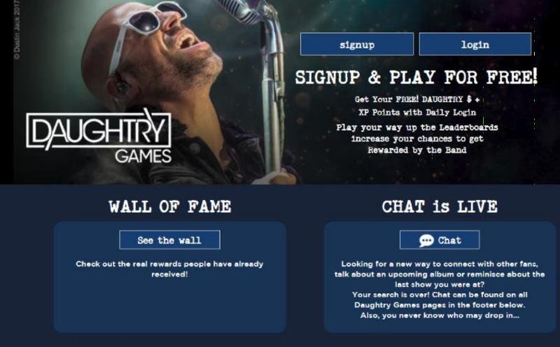 Bild Daughtry Games Portal