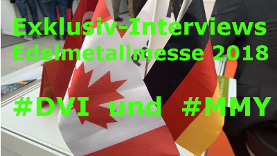 Dunnedin & Monument im Video-Interview auf der Edelmetallmesse 2018